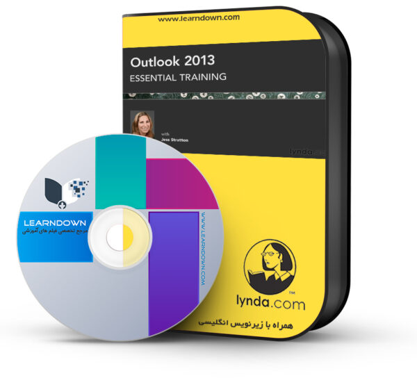خرید آموزش اوت لوک ۲۰۱۳ – Outlook 2013 Essential Training