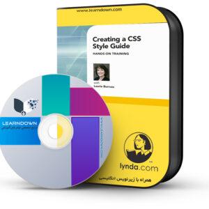آموزش ساخت قالب سی سی اس-Creating a CSS Style Guide: Hands-On Training