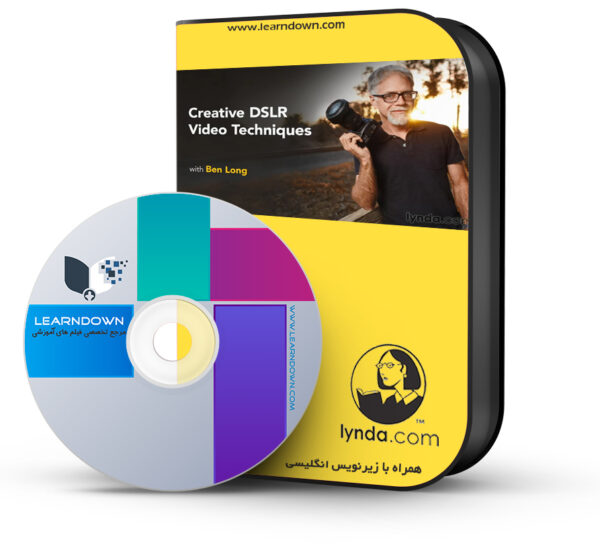 آموزش تکنیک های فیلم برداری با دی اس ال ار هوشمند – Creative DSLR Video Techniques
