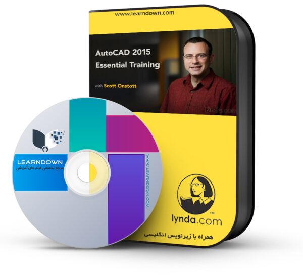 آموزش اتوکد ۲۰۱۵ – AutoCAD 2015 Essential Training