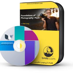 خرید آموزش مبانی عکاسی: فلش - Foundations of Photography: Flash