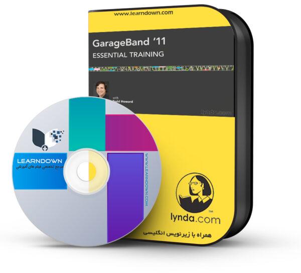 خرید آموزش گاراژ باند ۱۱ – GarageBand 11 Essential Training