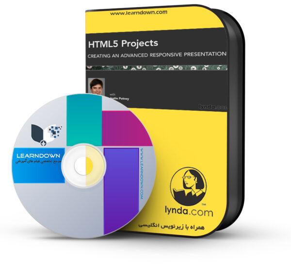 آموزش پروژه های اچ تی ام ال ۵ : ساخت ارائه پیشرفته واکنشگر – HTML5 Projects: Creating an Advanced Responsive Presentation