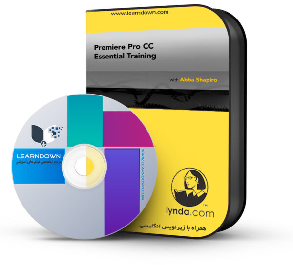 آموزش پریمیر پرو سی سی ۲۰۱۴ – Premiere Pro CC Essential Training 2014