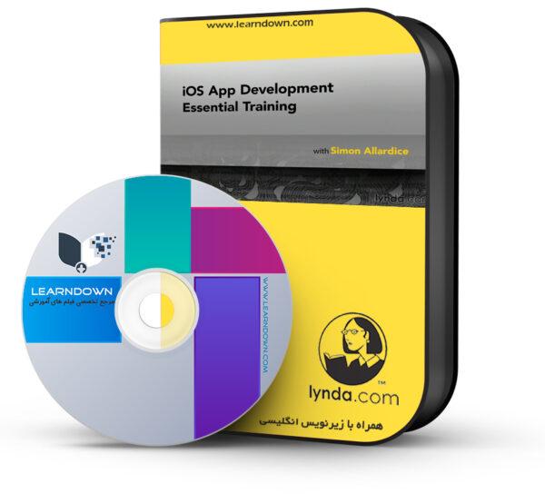 خرید آموزش گسترش اپلیکیشن های ای او اس – iOS App Development Essential Training