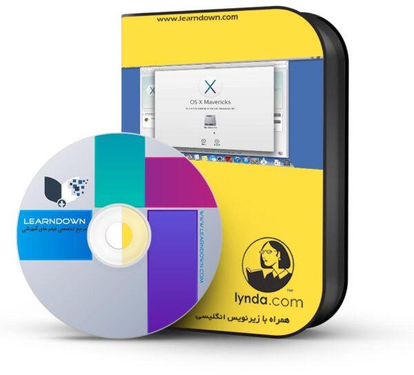 آموزش مکینتاچ ماوریکس   – Mac OS X Mavericks Essential Training