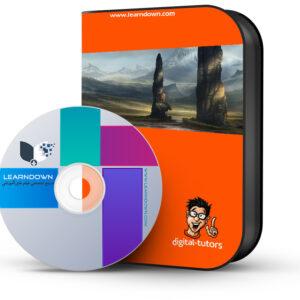 آموزش ایجاد کانسپ محیطی گیرا در فتوشاپ| Creating Compelling Environment Concepts in Photoshop