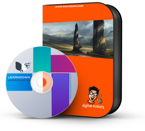آموزش ایجاد کانسپ محیطی گیرا در فتوشاپ  Creating Compelling Environment Concepts in Photoshop