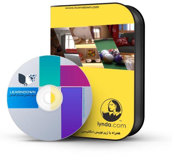 آموزش وی ری ۳ برای تری دی استدیو مکس | V-Ray 3.0 for 3ds Max Essential Training