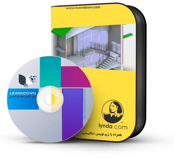 آموزش رویت معماری ۲۰۱۶ (امپریال)   Revit Architecture 2016 Essential Training-Imperial