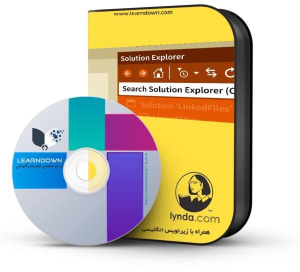 آموزش ویژوال استدیو : ۰۳ بررسی پروژه ها و راهکارها  Visual Studio Essential Training 03 Exploring Projects and Solutions